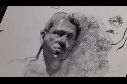 Drawing-Charcoal-Male Portrait