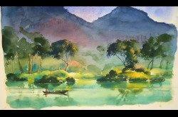 Painting - Watercolor - Landscape Concept to Completion-Part 2