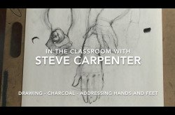 Drawing - Charcoal - Addressing Hands and Feet