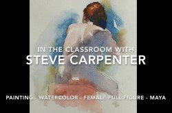 Watercolor Painting Video Lesson Female Full Figure-Maya