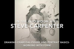 Charcoal Figure Drawing Video Lesson Female Figure and Portrait Basics