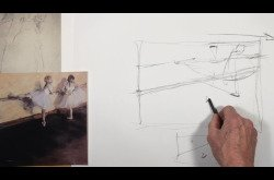 Learning From the Masters - Degas-Drawing and Composition