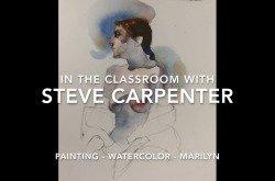 Watercolor Female Figure Painting Tutorial - Marilyn by Steve Carpenter